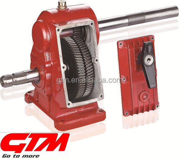 GTM agricultural ratio 1:4 pestidide sprayer gearbox