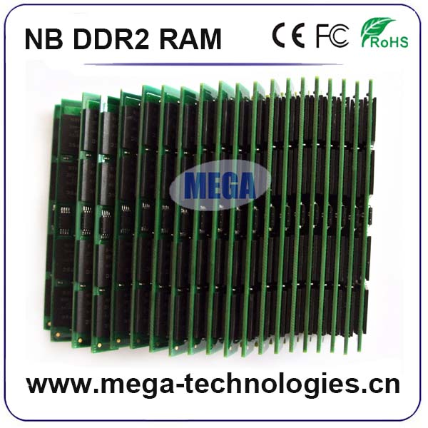Best price pc2-6400 ram memory 4gb ddr2 800 sodimm compatible
