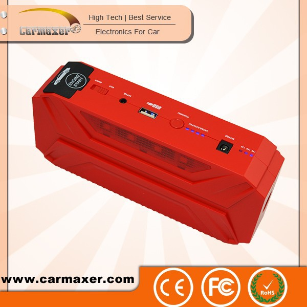 16,500 Mah Private Model Emergency mini multi-function jump up emergency car jump starter