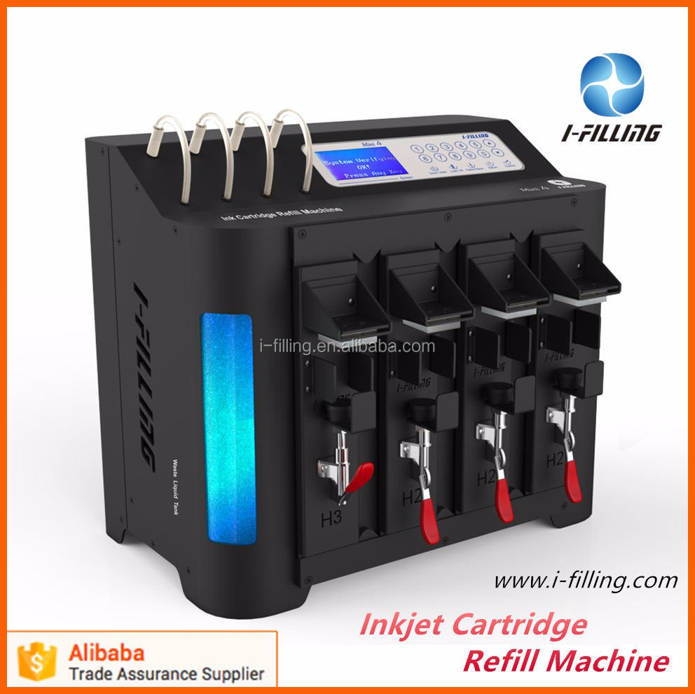 Easy Installation ink refill store Auto Ink Cartridge filling machine