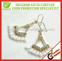 Customized free seed bead earring designs