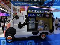 mini Electric Food CarBest Quality Mobile Food Trailer/Electric Tricycle Mobile Hot Dog Truck For Sale