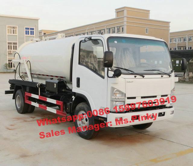 chine meilleur prix japonais 6000 litres fosse septique camion 190hp camion avec diry r servoir. Black Bedroom Furniture Sets. Home Design Ideas
