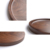 16 inch Round shape easy cleaning walnut wooden fruit tray wood tools