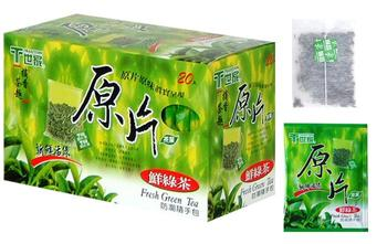 Fresh Green Tea-Whole Leaf Tea Bag
