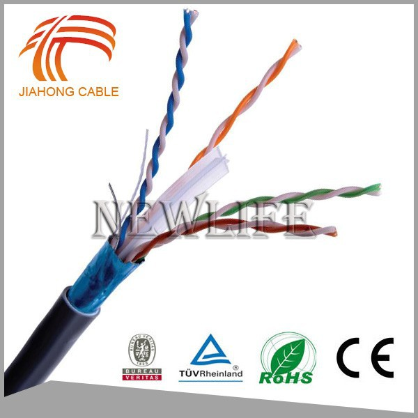 Factory Price Copper Systimax Cat6 cable with ROHS UL Certificates