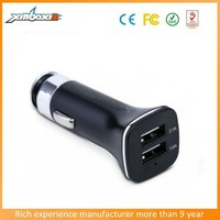 Hot selling 3.1a Dual Usb Car Charger For mobile phone/ipad/samsung