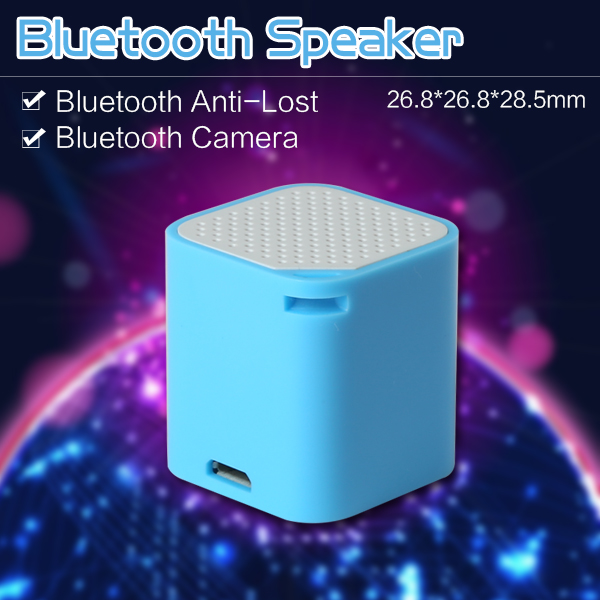 2016 NEW Mini Bluetooth speaker colorful multipoint rechargeable Selfie stick with Bluetooth remote shutter, Smart box soeaker