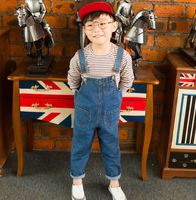 New Fashion Kids Casual Overalls Jeans For Boys