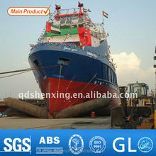 Good Gas Keeping Marine Rubber Ship Launching Airbag