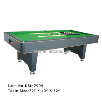 Fasionable billiard table classic pool table buy for Pool table 6 x 3