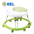 Japanese style simple round with seat cover baby walker