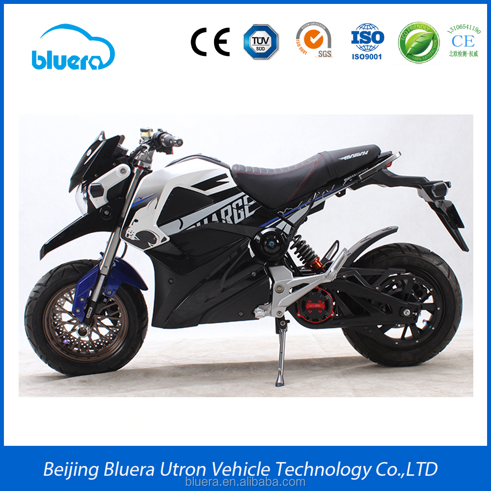 high power 72V 2000W fast racing electric motorcycle with price