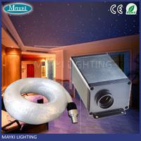 Fiber optic light for star ceiling optical fiber light