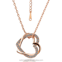 Light Weight Rose Gold Necklace Set