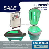 High quality easy slim slimming ozone steam infra red light therapy far sauna spa capsule for sale
