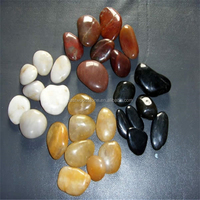 Pebble stone floor mat