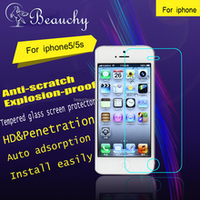 2016 BEAUCHY 9H hardness High clear screen protector film roll for iphone 5 / 5s