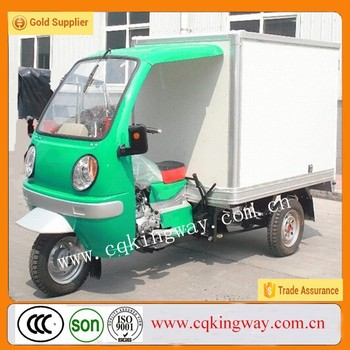 China 200cc/250cc motorcycle sidecar /closed three wheel car for sale