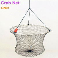 High quality Fishing Drop 2 ring crab net, ring nets fishing