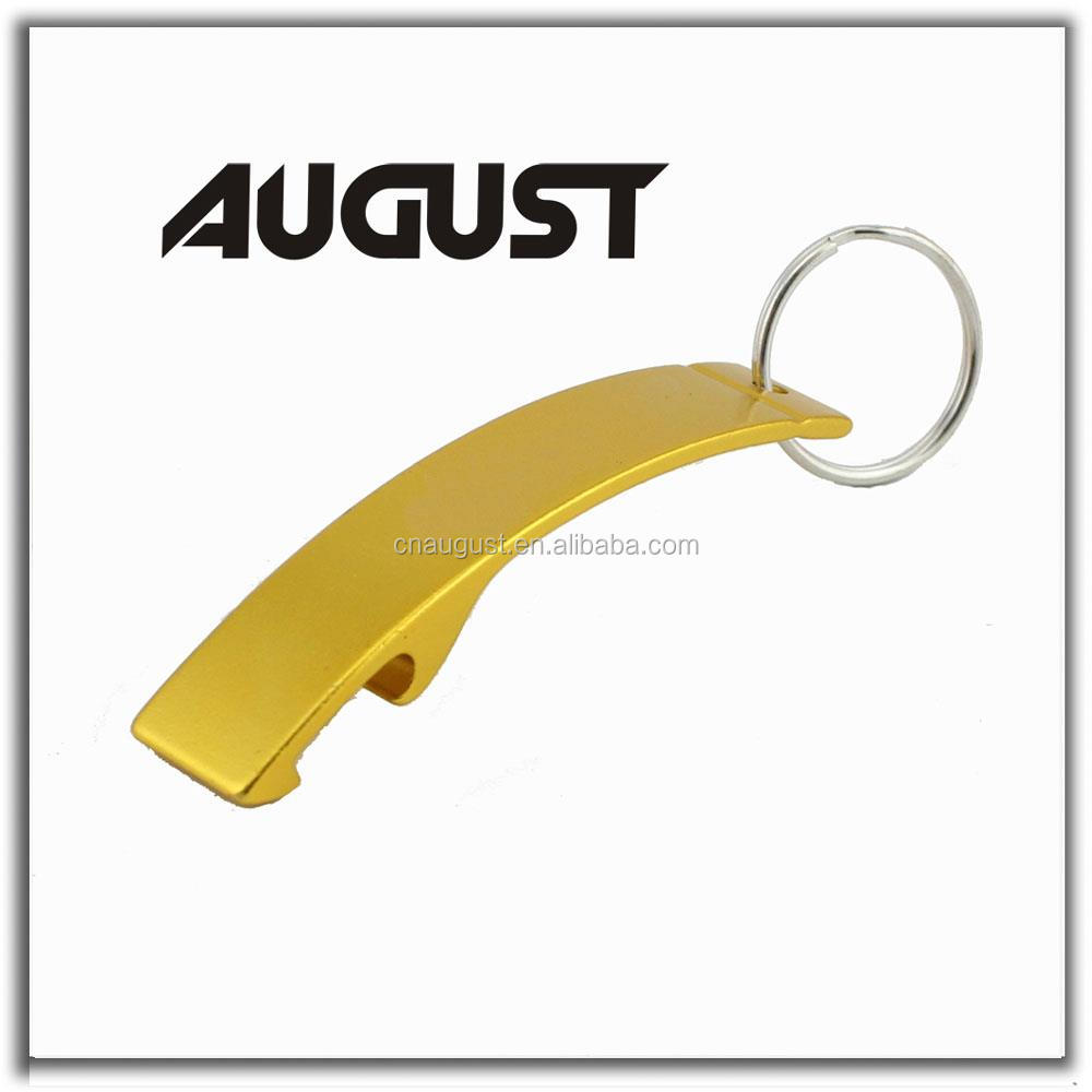 august g shape gold bottle opener keychain personalized can opener buy bottle opener keychain. Black Bedroom Furniture Sets. Home Design Ideas