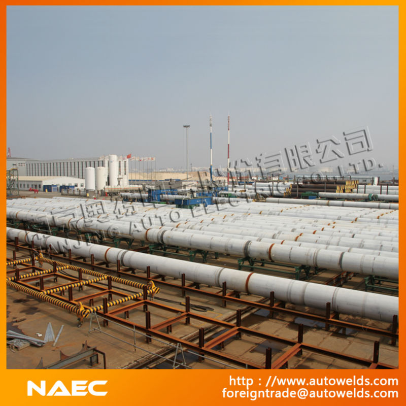 Pipeline Joining and Fabrication Production Line