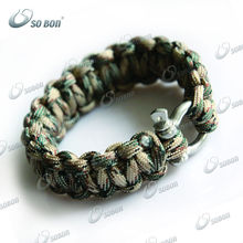 how much rope is in a survival bracelet/rescue safety bracelet