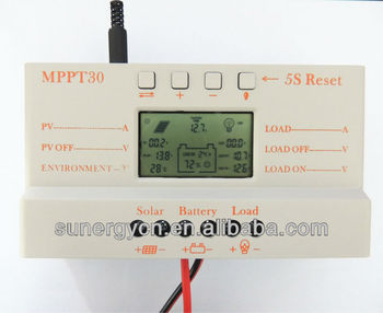 New launched MPPT solar controller 12V24V 30A solar charger controller