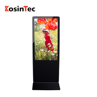 Promotion Seasonal 55 inch floor stand lcd digital signage