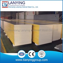 HOT high density Polyurethane foam sandwich panel density 18kg/m3 14kg/m3