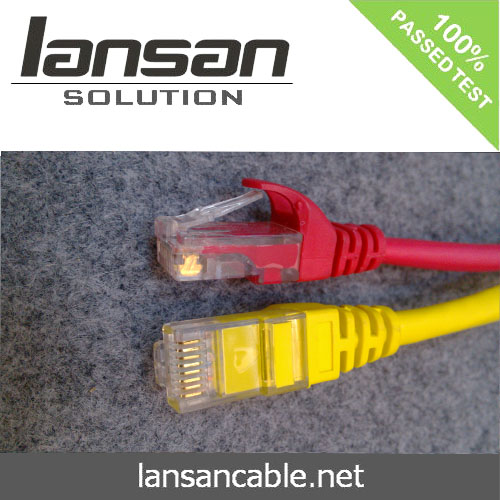 LANSAN Professional High Speed cat6 rj45 patch cable 568b 568a PVC/LSOH ETL/UL/ROHS/ANATEL