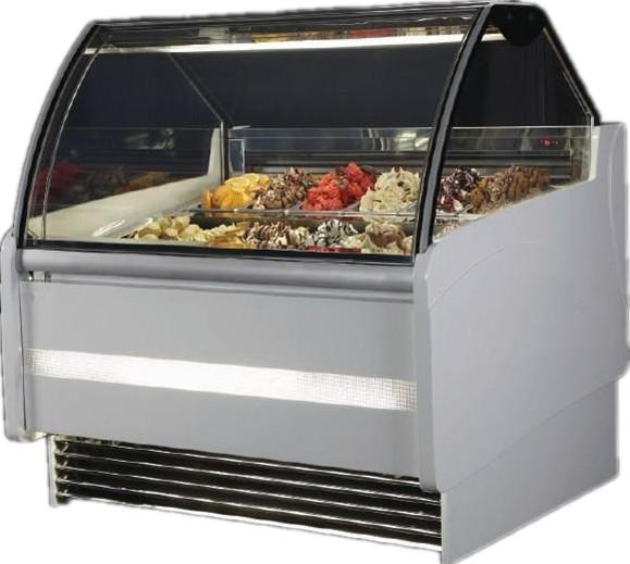 BKN-B1-1600 wholesale High quality hot sale ice cream showcase with CE approved