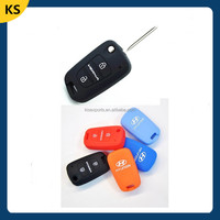 Silicone skin cover for car key protective hyundai car key case silicone key cover for brand car key cover for silicon key case