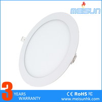 Meisun led non-dimmable 18W modern cheap led panel lighting with 3 years warranty
