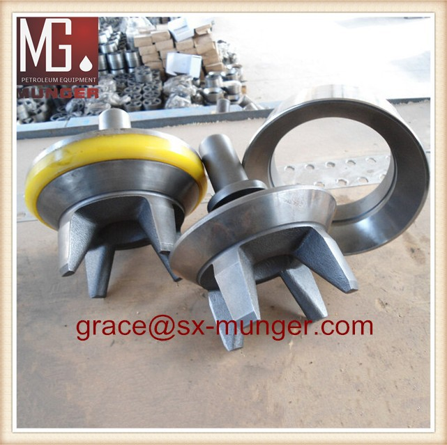 full open valve and valve seat.,mud pump valve assy