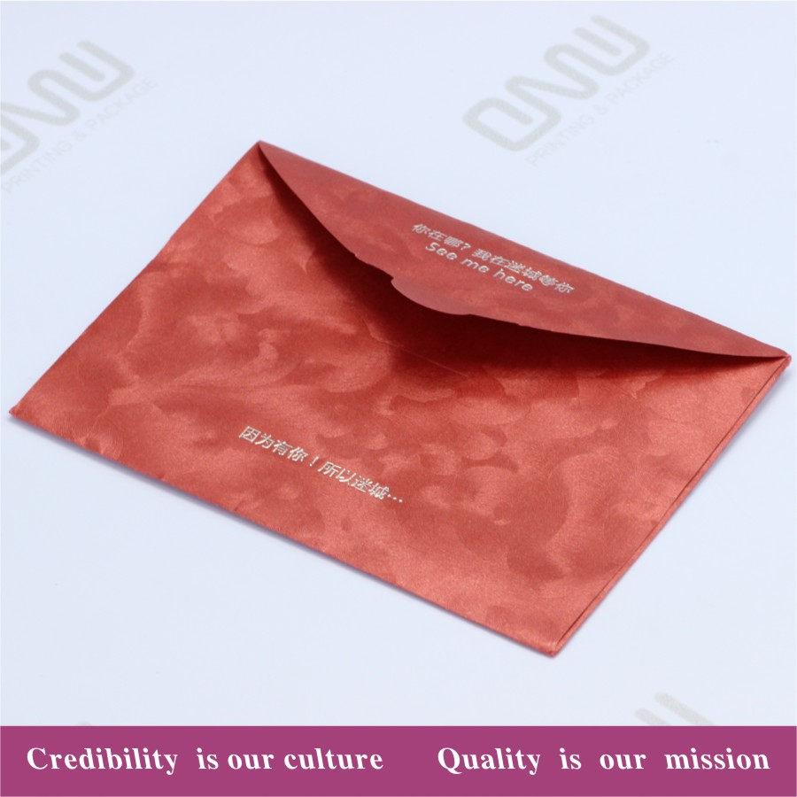 hot sell Paper Envelope printing with customized logo