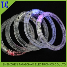 2016 Superior led User-Friendly Exquisite Flashing Led Bracelet,8 led flashing bracelet,acrylic led flashing bracelet