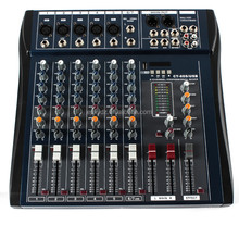 J.I.YCT60 cheap price audio mixers console with USB MP3 6/8/12/16 channel ,digital dj music mixer machine