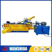 Y83-1350 beer can compress machine automatic hydraulic scrap metal old steel baler press machine