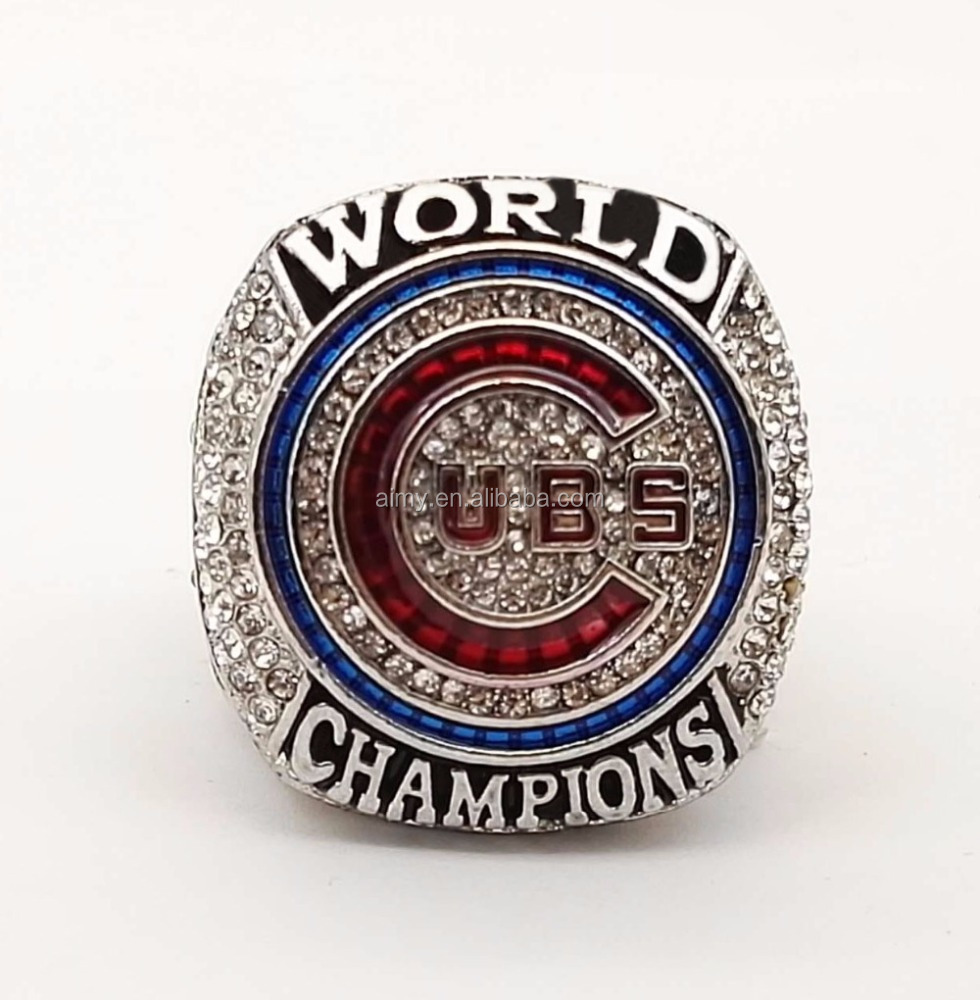 2016 Chicago Cubs World Series BRYANT Championship <strong>Ring</strong> Size 7-15 For fans In Stock