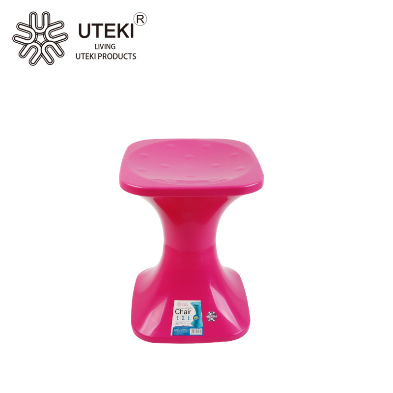 Large square plastic combination chair with factory price