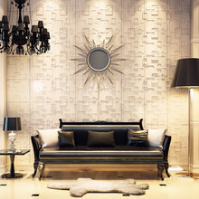 Modern <strong>design</strong> 3-dimensional effect simple embossed wall panel 3d for bedroom