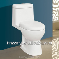 Sanitary ware one piece washdown ceramic cera toilet /middle east&india style toilet