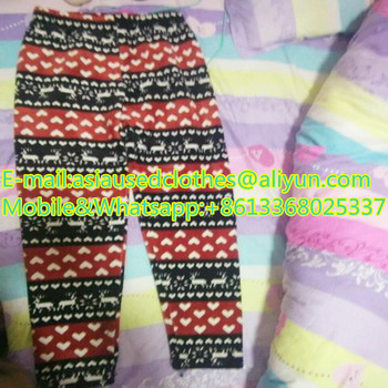 Kids cotton pants USA Wholesale secondhand Clothes spring and autumn mixed