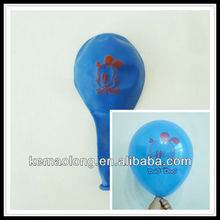 Custom logo printed latex ballon from china balloons factories