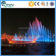 Outdoor Angel Music Dancing Shooting Water Fountain