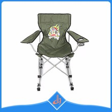 Custom Color Material Outdoor Folding Rocking Beach Chair Camping