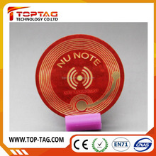 Encoded NFC sticker Ntag213 anti theft RFID tag for identificatiion