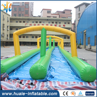 Hot sale giant inflatable water slide the city,slip n slide the inflatable slide for sale