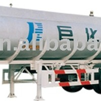 Tri Axles Chemical Liquid Transport Tanker